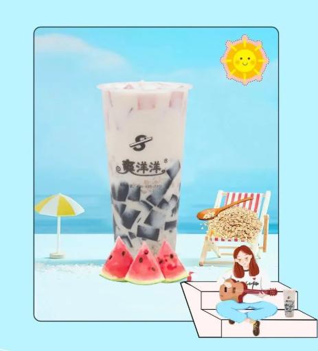 开一家赚钱的烧仙草奶茶店需要多少钱?